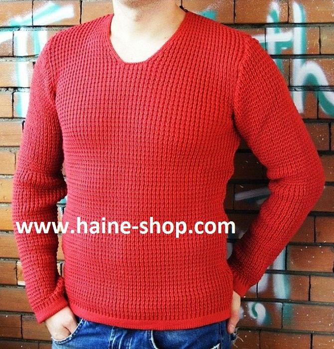 pulover luxury model cambrat bumbac gros de iarna-700x700