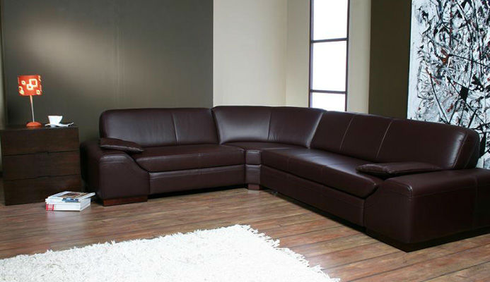 Canapele moderne din piele mateo.
