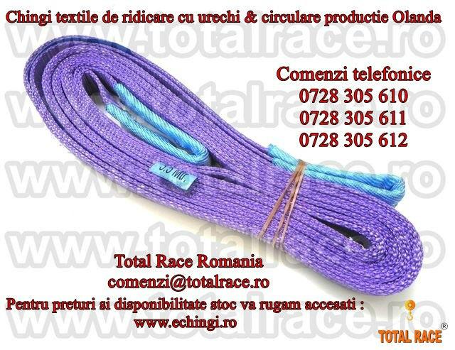 chinga de ridicare textila cu urechi 1 tona date contact