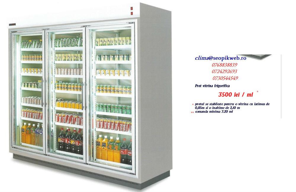Vitrine frigorifice verticale la comanda