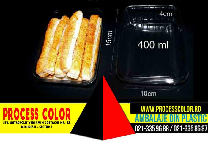 Caserole Fast-Food | Ambalaje Plastic