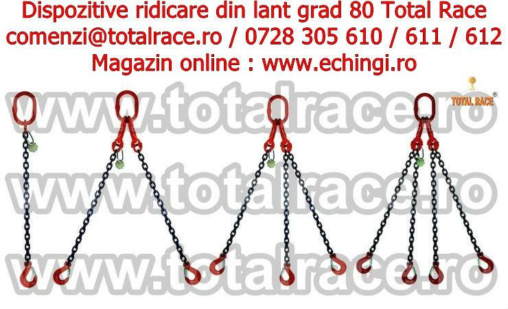 1-4 brate dispozitiv lant ridicare grad 80 carlig siguranta date contact