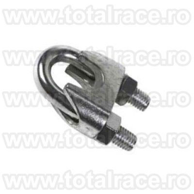 bride metalice de strangere cablu bride fixare cablu brida zincata pentru cabluri cu diametru Ø5 la  Ø40