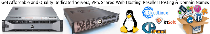 Low cost and High Quality Web Hosting, Dedicated Servers or VPS, Domain names and SSL / TLS Certificates Offer - Image 1